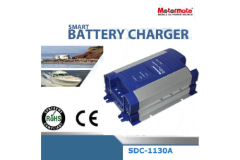 Motormate DC to DC 12V 30A power  booster  4 stage fully automatic Battery charger with Thermal control fan