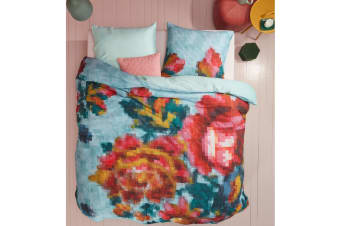 Floral Mosaic Multi Cotton Quilt Cover Set by Oilily