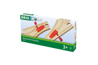 Brio Mechanical Switches for Railway