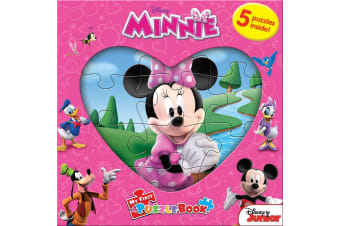 Minnie - My First Puzzle Book