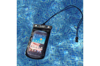 Underwater Floating Waterproof Phone Case - Small Black 15cm