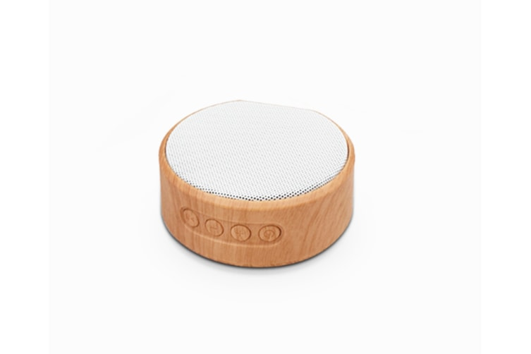 Retro Bluetooth Speaker Mini Woodwork Subwoofer Sound White
