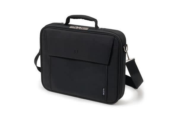 "Dicota Multi BASE carry bag with shoulder strap for 14""-15.6""  Notebook /Laptop (Black) Euro Design"