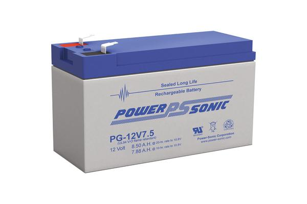 Power Sonic 12V 7.5Ah Long-Service Battery