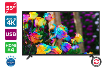 "Refurbished Kogan 55"" 4K LED TV (Series 8 JU8000)"