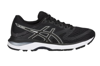 ASICS Women's GEL-Pulse 10 Running Shoe (Black/Silver, Size 7.5)