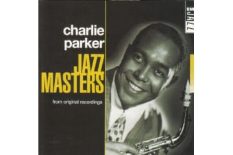 CHARLIE PARKER Jazz Masters BRAND NEW SEALED MUSIC ALBUM CD - AU STOCK