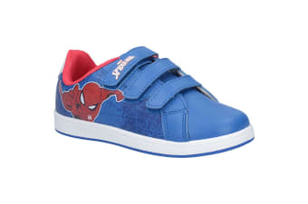 Spiderman Childrens/Kids Touch Fastening Trainers (Blue) (11.5 Child UK)