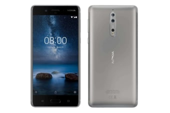 Nokia 8 (64GB, Steel Grey)