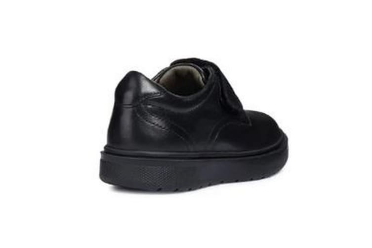 Geox Boys J Riddock B. G Touch Fastening Leather Shoe (Black) (9 UK Child)