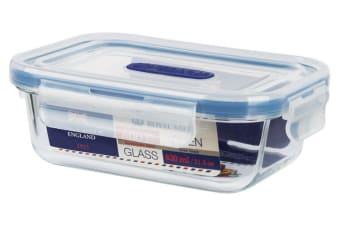 Royal Vale Glass Container Rectangular 630ml