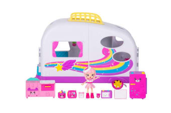 Happy Places Shopkins Rainbow Beach Happy Campervan S5