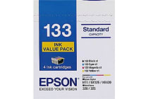 Epson 133 Value Pack - 4x 133 Inks