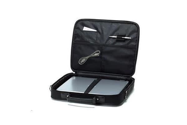 "TOSHIBA Notebook Bag Topload 16"" Black Nylon 600D"