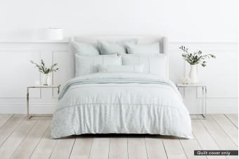 Sheridan Arland Quilt Cover (Seagrass, King)