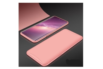 Frosted Shield Matte Plastic Ultra Thin Shockproof Case For Oppo Rose Gold R11S