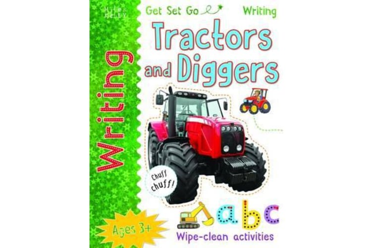 Get Set Go Writing - Tractors and Diggers