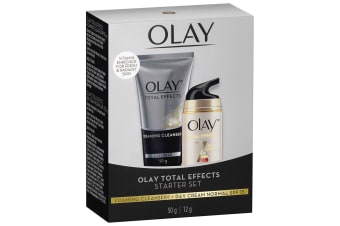 Olay Total Effects 7 In 1 Foaming Cleanser 50g + Day Cream Normal SPF 15 12g