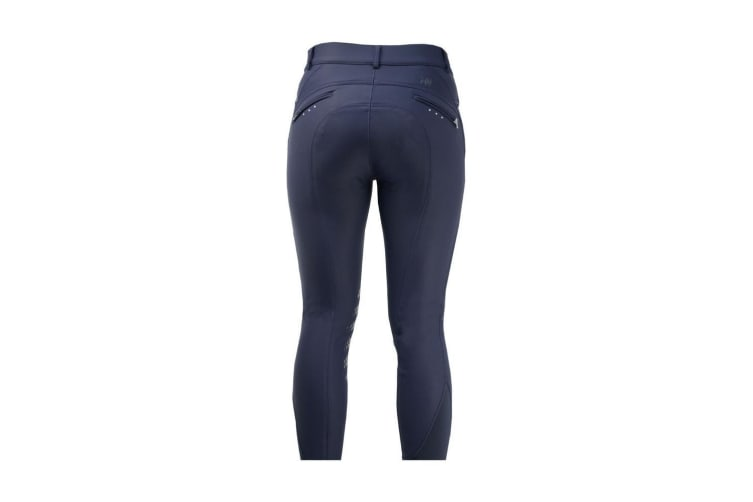 HyPERFORMANCE Womens/Ladies Thermal Softshell Breeches (Navy) (32in)