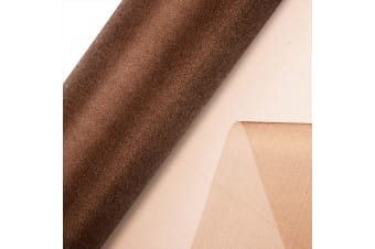 Club Green Organza 10 Metre Snow Sheer Roll (Chocolate Brown)