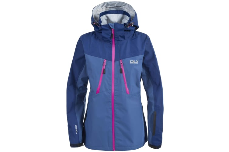Trespass Womens/Ladies Calissa Waterproof Jacket (Navy Tone) (XS)
