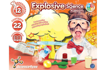 Science4you Explosive Science Kit
