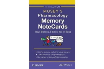 Mosby's Pharmacology Memory NoteCards - Visual, Mnemonic, and Memory Aids for Nurses