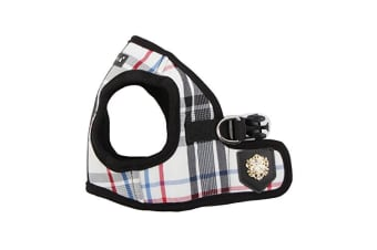 Puppia Junior Dog Harness B (Black) (XS)