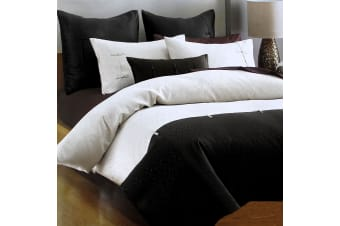 Shandong Quilt Cover Set Queen or King Size by Deco