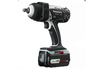 Panasonic EY7552X57 18V LITHIUM ION IMPACT WRENCH 4.2Ah (HIGH TORGUE 450NM) SKIN 1/2 INCH SQUARE