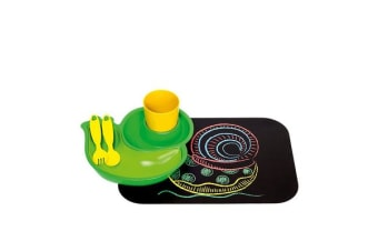 Ogilvies Designs Eco Snail 6pc Dinner Set Green