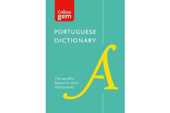 Collins Portuguese Dictionary Gem Edition - Trusted Support for Learning, in a Mini-Format