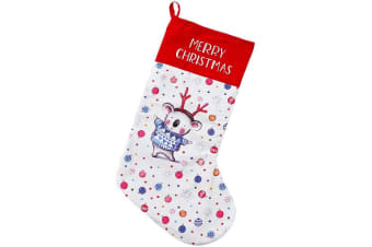 Ashdene Barney Christmas Santa Stocking