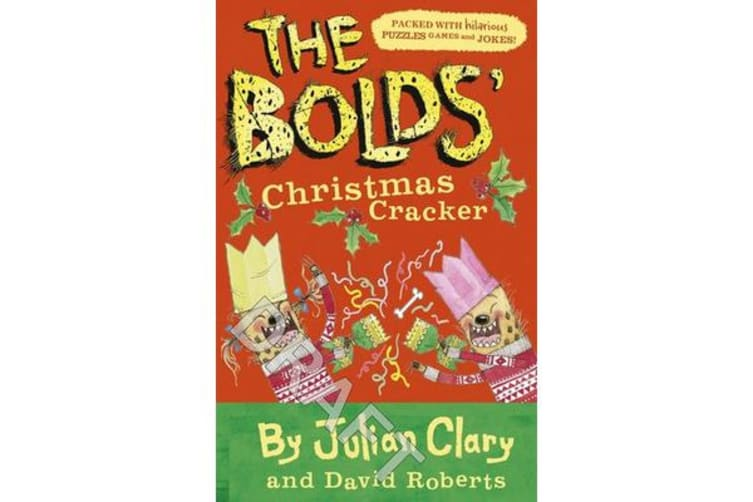 The Bolds' Christmas Cracker - A Festive Puzzle Book