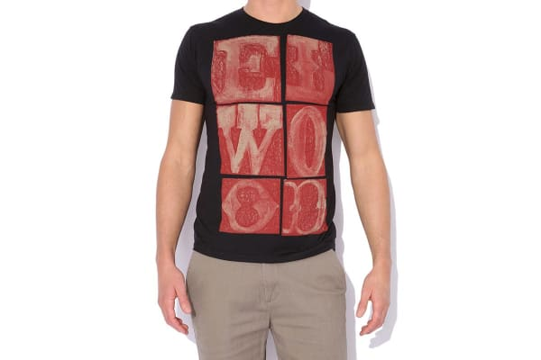 Elwood Men's Box Out Tee (Black, Small)