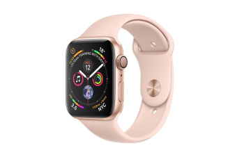 Apple Watch Series 4 (Gold, 44mm, Pink Sand Sport Band, GPS Only)
