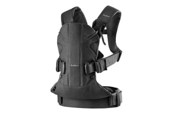 BabyBjorn Baby Carrier One (Black/Cotton)