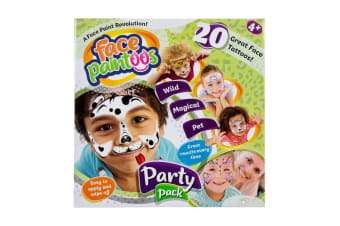 Face Paintoos Party Pack