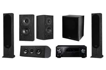 Pioneer 5.1 Home Theatre System with 105W 5.1 Channel Receiver - Designed by Andrew Jones