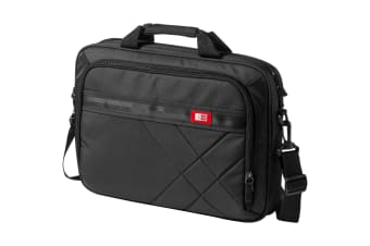 Case Logic 15.6in Laptop And Tablet Case (Solid Black) (41.0 x 7.0 x 29.0 cm)