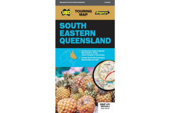 South Eastern Queensland Map 431 8th ed