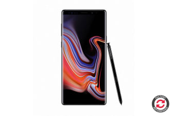 Refurbished Samsung Galaxy Note9 Dual SIM (128GB, Midnight Black)