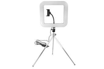 New Hot 28cm Adjustable Led Square Light With Tripod Net Red Live Light Supplement Mobile Phone Bracket