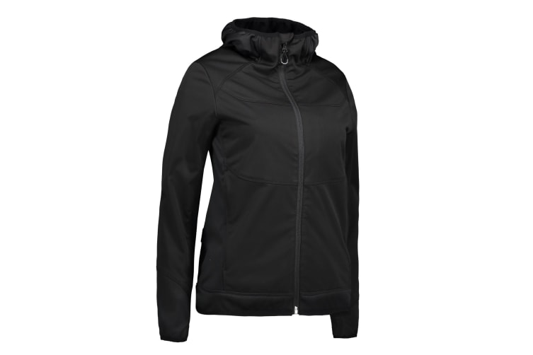 ID Womens/Ladies Combi Stretch Jacket (Black) (XL)
