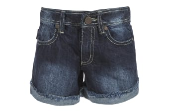 Trespass Childrens Girls Catherine Denim Shorts (Dark Denim) (2/3 Years)