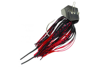 ZMan Lures Chatterbait Original 3/8oz - Black/Red