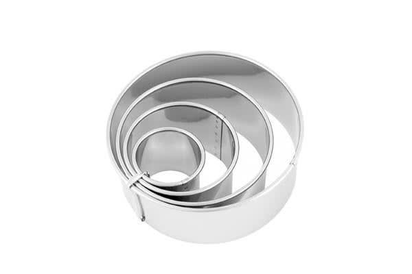Chef Inox Plain Biscuit Cutter S/S 3.8cm