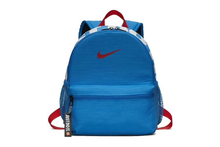 Nike Brasilia JDI Backpack (Blue, One Size)