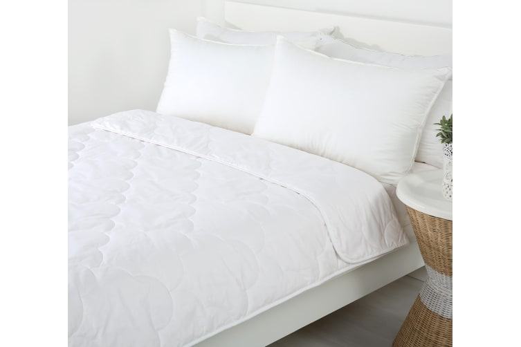 100% Cotton Filled Quilt Queen Bed