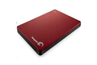 Seagate 2TB Backup Plus Slim - Red